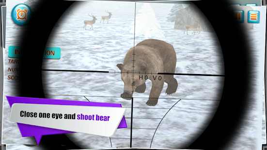Wild Animals Hunter: Snow 3D- screenshot thumbnail