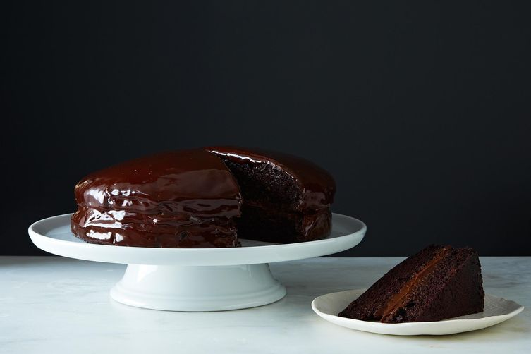 Let them eat vegan chocolate cake