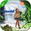 Waterfall Photo Frame : Cut Paste Editor APK