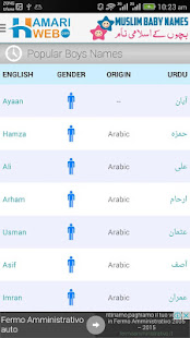 Muslim Baby Names Meanings Islamic Boys Girls Apper Pa Google Play