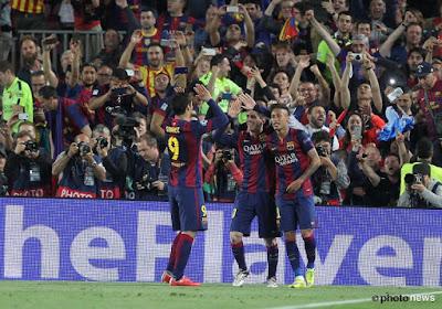 Le pubic du Barça offre un superbe tifo