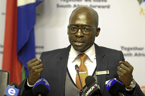 Strenuous denial: Finance Minister Malusi Gigaba has come in for criticism after Eskom was given a bail-out despite his assurances last year that the utility would not receive further funding. Picture: TREVOR SAMSON