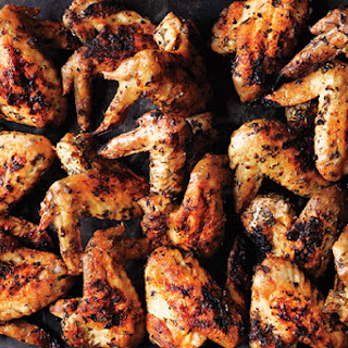 Herb Grilled Chicken Wings.