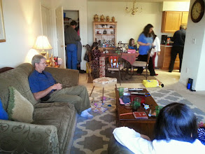 Photo: Visit at Lisas house new years day
