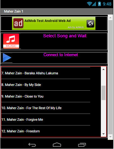 Download Lagu MAHER ZAIN - 1 All Song Google Play softwares