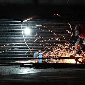Welding Man by Nugroho Kristanto - People Street & Candids ( welding )