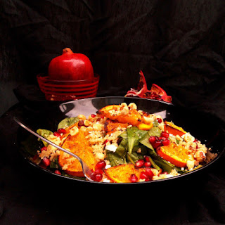 Couscous, Roasted Oranges and Feta Salad