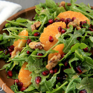 Arugula Salad with Pomegranate