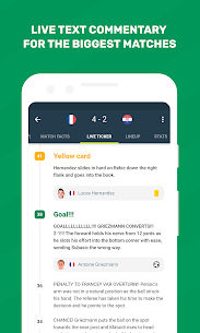 FotMob – Live Soccer Scores Mod 91.0.6068.20190121 Apk [Pro/Unlocked] 3