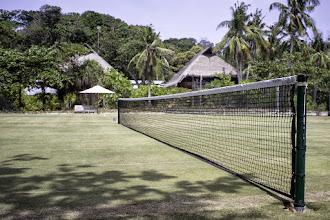 Photo: Grass tennis court