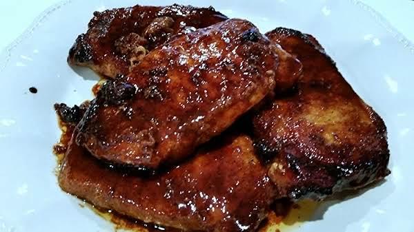 ~ Heat Meets Sweet Pork Chops ~ So Good & Easy!! Recipe