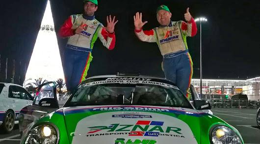 Aznar y Crisanto, de nuevo campeones de Andalucía de Rallyes de Asfalto