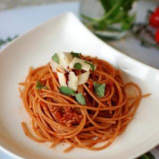 Spaghetti Bolognese Sauce Red Wine Recipes