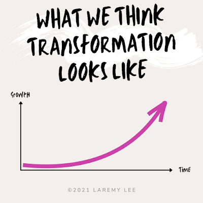 What we think transformation looks like