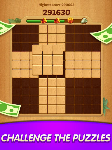 Lucky Woody Puzzle - Big Win with Wood Block Games modavailable screenshots 6