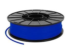 NinjaTek NinjaFlex Sapphire Blue TPE Filament - 1.75mm