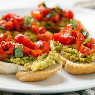 Mexican Avocado Bruschetta Recipe