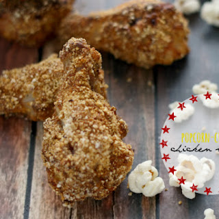 Popcorn-crusted Chicken Wings