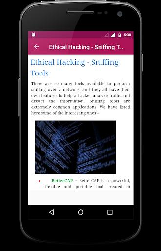 Ethical Hacking 2.1 screenshots 6