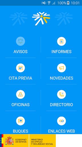 Seg-Social Seg. Social Móvil screenshot 1