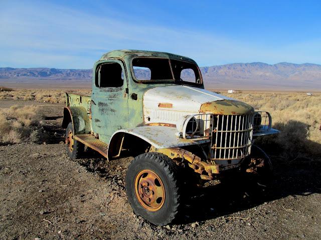 Dodge truck at Ballarat