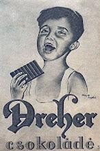 Photo: Reklama czekolady Dreher z 1935 r.