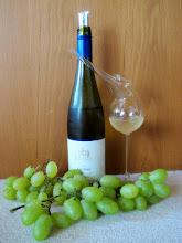 Photo: Ein spezielles Glas zu einem besonderen Wein (Erika)
