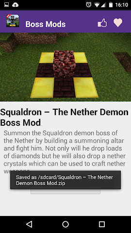 android Boss Mod For MCPE' Screenshot 4