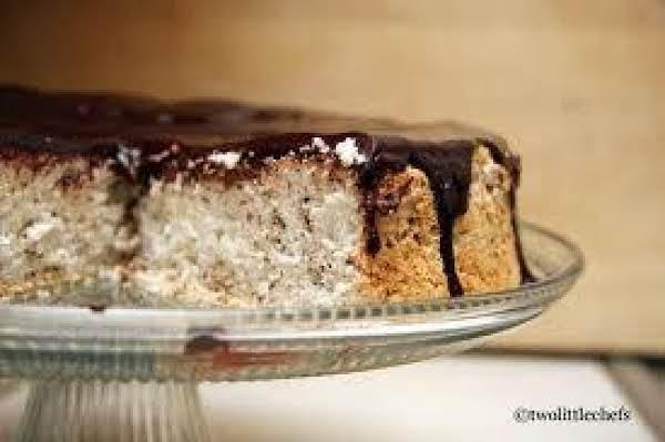 Tuxedo Angel Food Cake