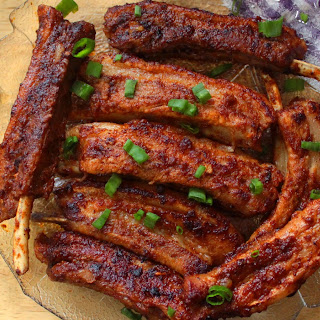 Keto BBQ Pork Spare Ribs Recipe