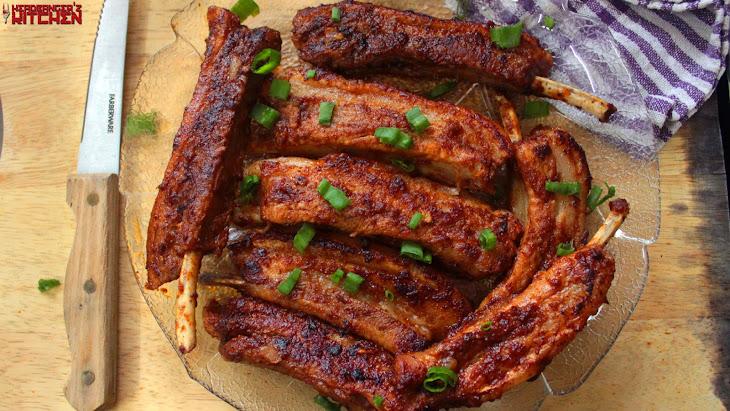 Keto BBQ Pork Spare Ribs Recipe