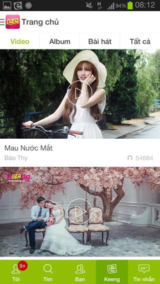 Keeng.vn: Music social network- screenshot