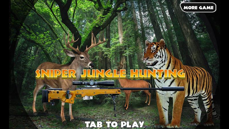 Скриншот Sniper Jungle Hunting
