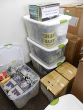 Photo: Shared Disaster Supply Cache for the Alliance for Response Pittsburgh group from NEH grant