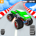 Wicked Truck Car Stunts: Climb Driving & Shooting icon