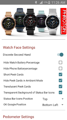 android Phroton Interactive Watch Face Screenshot 6