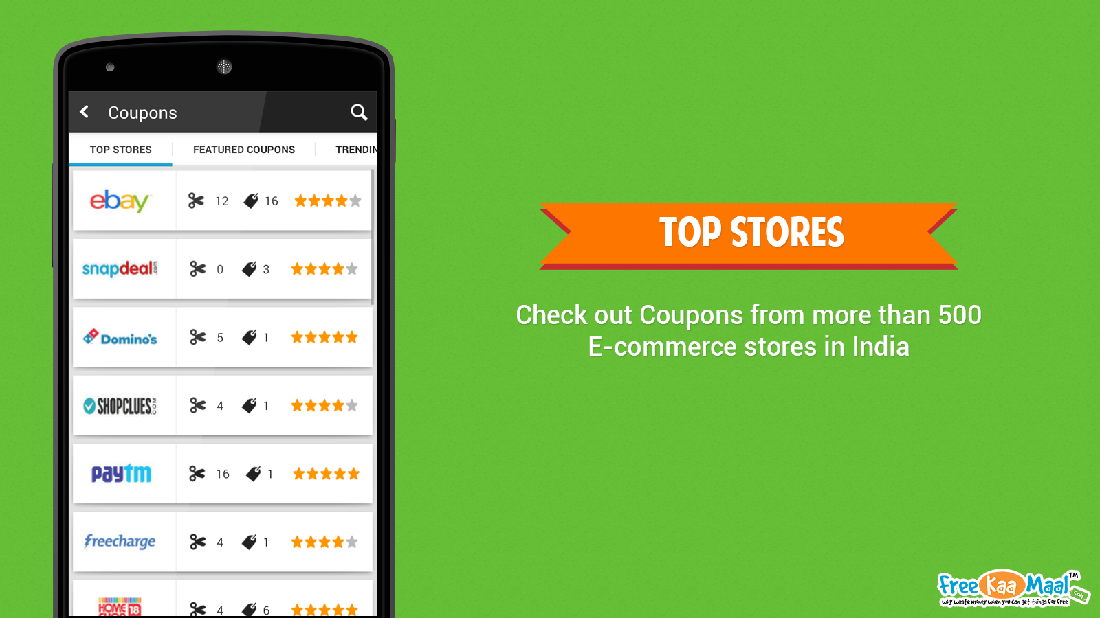 FreeKaaMaal - Deals & Coupons- screenshot