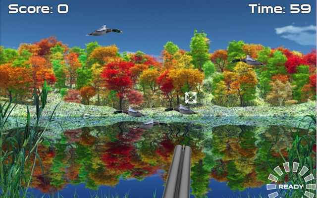Duck Hunter autumn forest Game