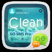 (FREE) GO SMS PRO CLEAN THEME