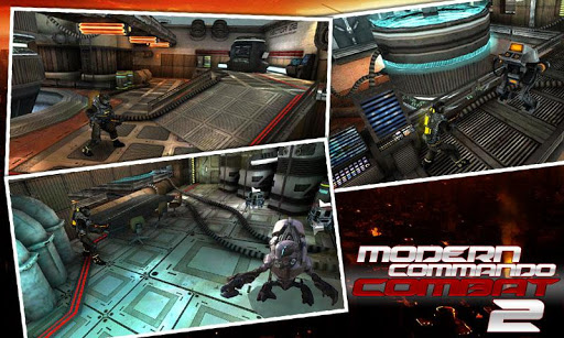 Modern Commando Combat 3D Free