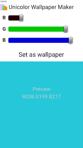 Unicolor Wallpaper Maker
