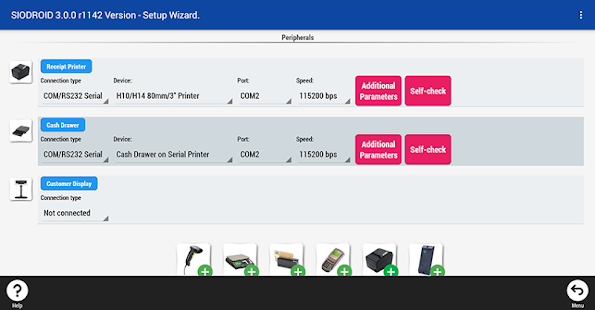 SIODROID Point of Sale (DEMO)- screenshot thumbnail