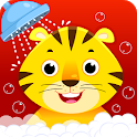 Baby Animal Bathing Game for Kids & Preschoolers icon
