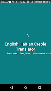 English Haitian Creole Translator apk screenshot 1
