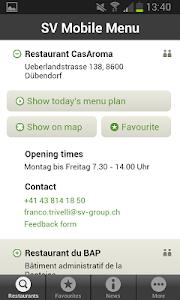 Mobile Menu screenshot 1