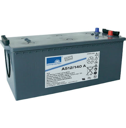 Gelbatteri 12V 140Ah Sonnenschein