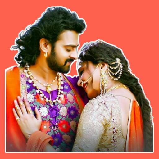 Romantic Prabhas whatsapp sticker