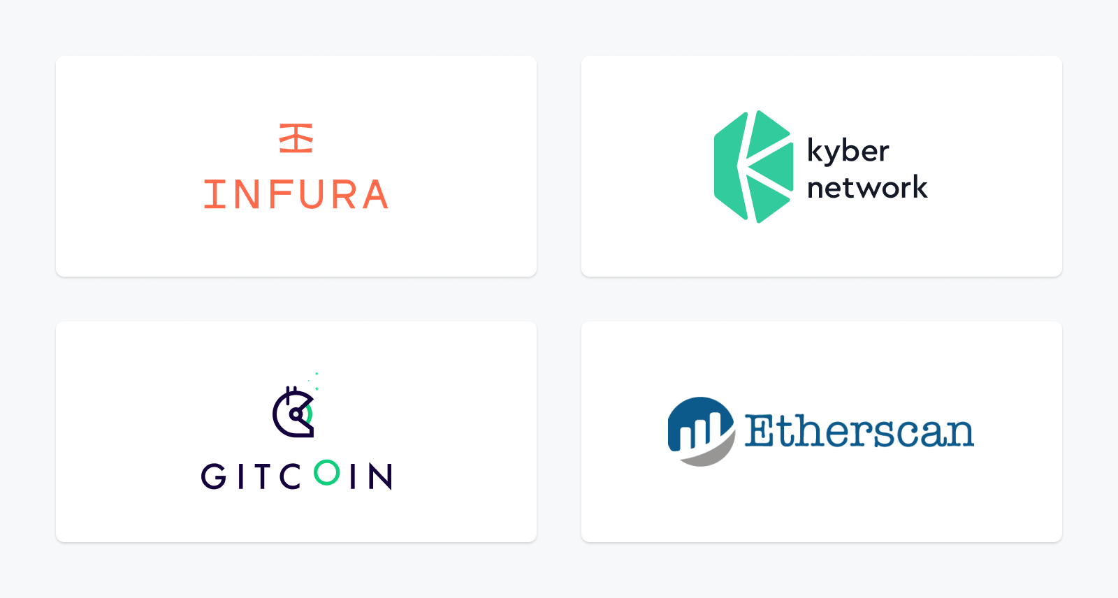 Light Feeds for Maker Oracles are provided by significant organizations in the Ethereum ecosystem.