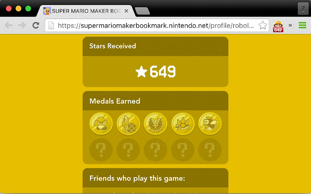 Super Mario Maker Star Count