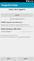 Screenshot of Add-On - SMS Backup & Restore